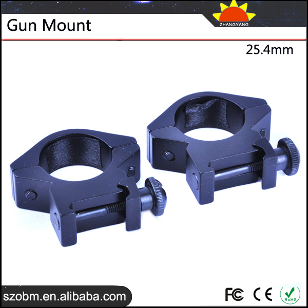 Wholesale 25.4mm Ring Double Gun Mount Tactical Airsoft Rifle Hunting Gun Accessory