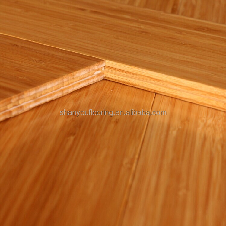 New Season Hot for Sale! piso de bambu, carbonized Vertical solid bamboo quick TG flooring
