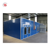 Furniture making machine LK-60 Paint Spray Booth for sale