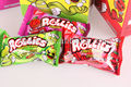 rollies gummy soft fruit candy (65% fruit juice)