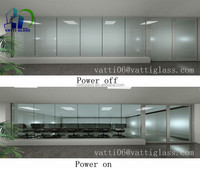 Wholesale best price good quality Switchable Smart Glass electronic PDLC smart film glass