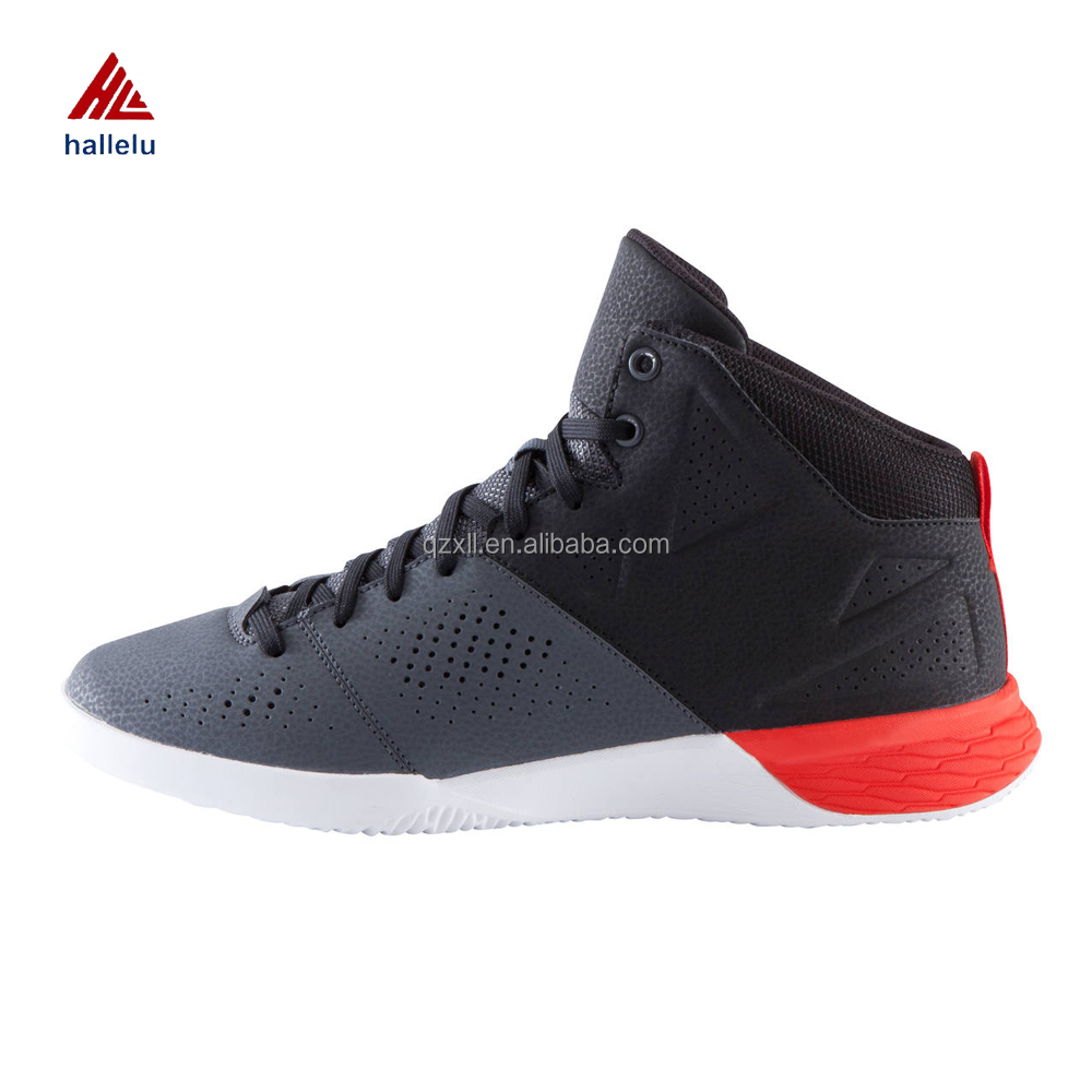 Latest Adult Basketball Shoes Men's Pro Sport Zapatillas Lace Up Breathable Men's CMEVA Leather Athletic Shoes