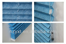 China fabric vertical pleated blinds printed/window shutters
