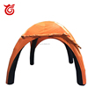 Factory price new orange dome tent camping,inflatable yurt tent for promotion