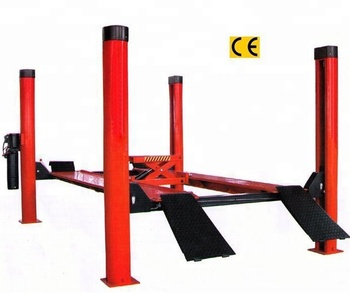 Heavy Duty Base Plate used Four Post Auto Car Lift with CE