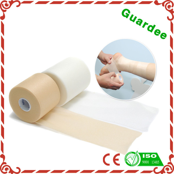 First-Aid Breathable Porous Underwrap PU Foam Bandage