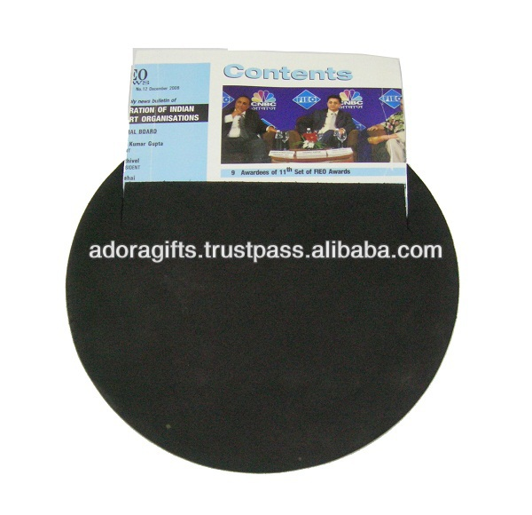 ADAPMP - 0002 padded mouse pad for computer / round shape mouse pad / novelty computer mouse pad