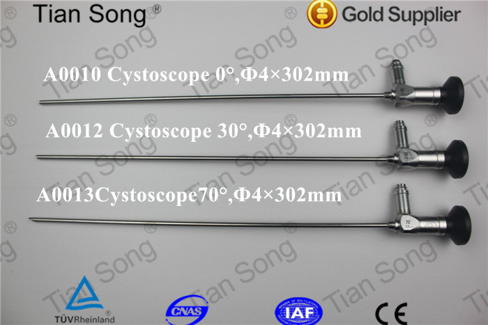4 mm 2.9 mm Medical rigid Optic Cystoscope Endoscope for Urology