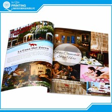 Cheap custom services offset company book magazine printing