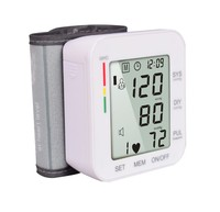 Home Use Automatic Wrist Type electric digital blood pressure monitor