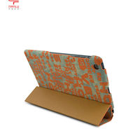 2013 Luxury High Quality Fashion Elegant Smart PU Leather Case for iPad mini with retail package,folding design