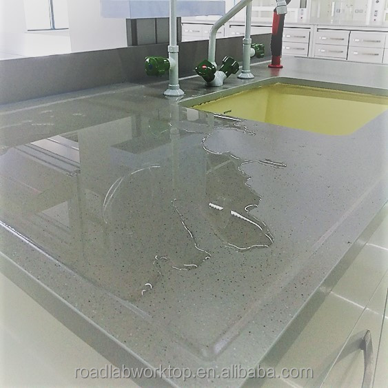 Fire Resistance to Ceramic Laboratory Table worktop Anti-Stain Fastness in chemical industrial lab