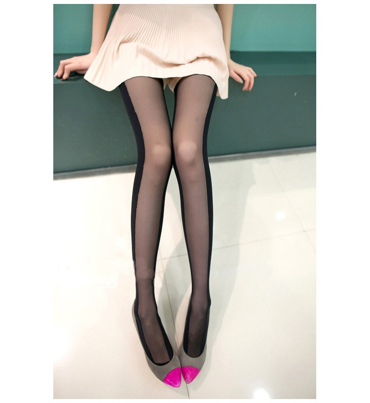 nylon feet silk tube stockings secret leggings for women pantyhose nylon feet tube pantyhose
