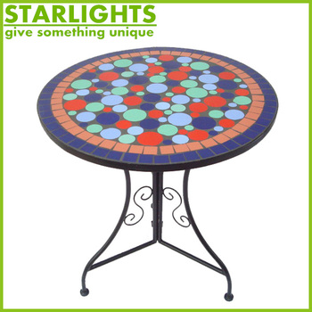Economical style simple design practical metal banquet round table top