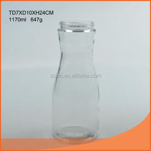 Top quality antique glass milk bottle covers