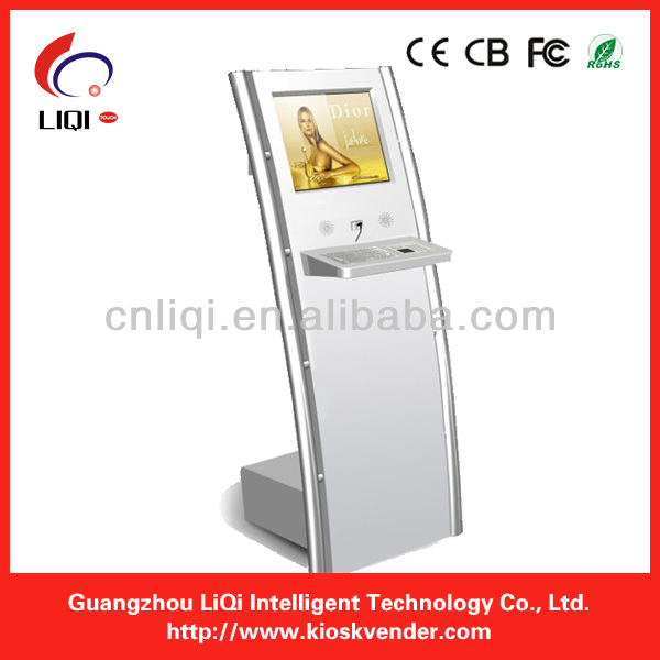Touch Screen Ticketing, Card printing, Passport Scan Lobby Kiosk