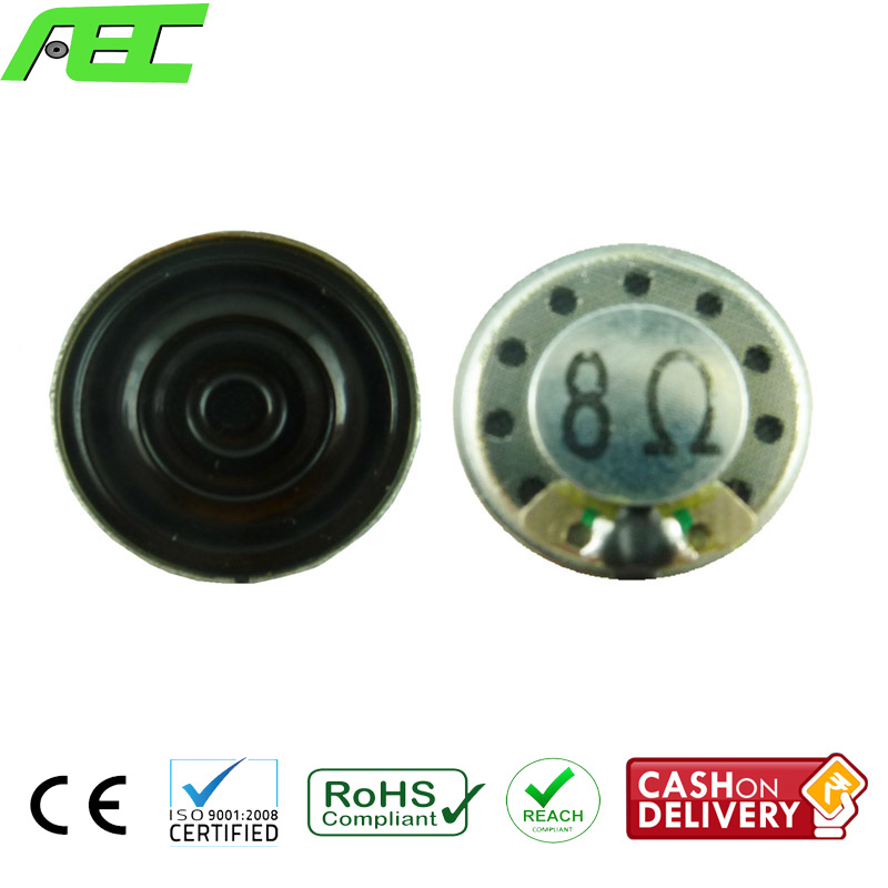 top sale 20mm <strong>speaker</strong> parts 8ohm 0.5w micro <strong>speakers</strong> for earphone