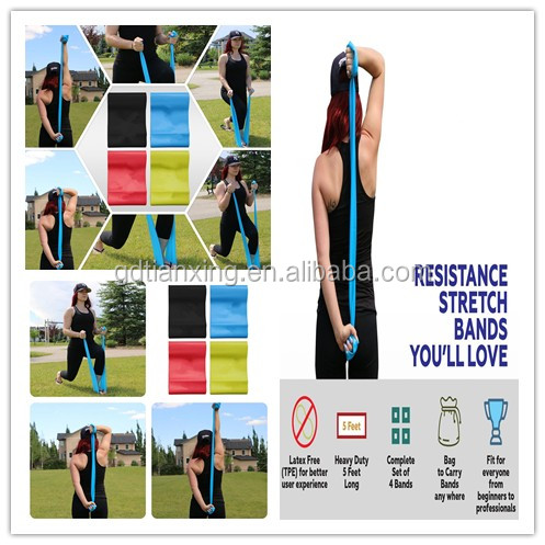 Trade Assurance Ballet Stretch Band for Dance & Gymnastics Training
