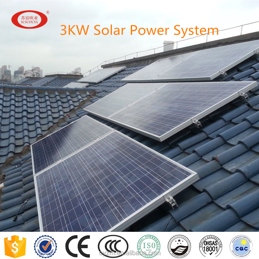 2kw 3kw 5kw solar home system solar power home system