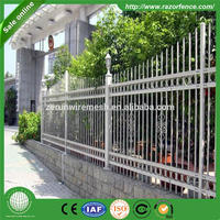 High security wpc second hand palisade fencing for sale