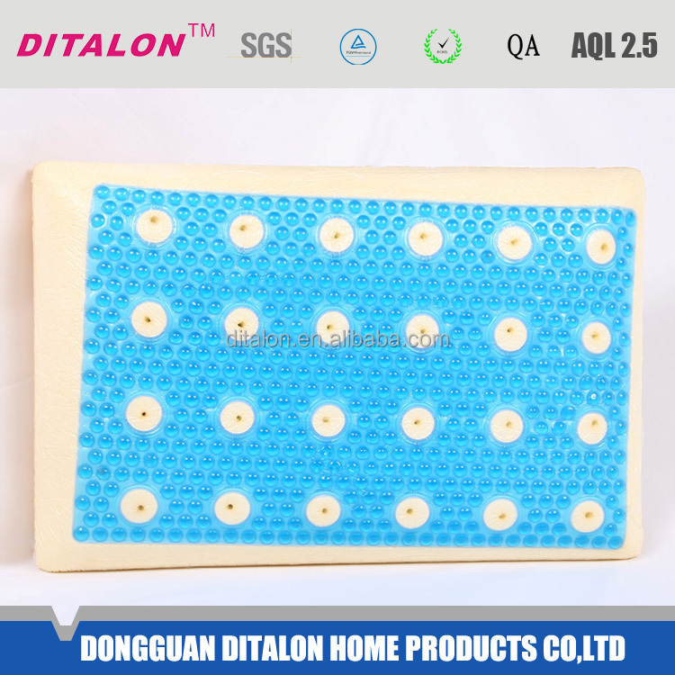 Chinese novel products high quality memory gel pillow alibaba dot com