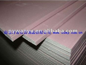 pink fireproof drywall