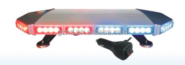 Super thin mini red and blue light AS-955H red and blue mini lightbar