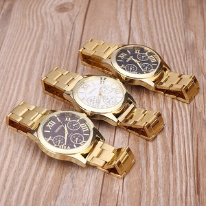 2018 Gold watch Geneva Watch Women Cheap price wrist watch
