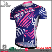 BEROY wholesale men short sleeve bicycle clothes, custom cycling shirts