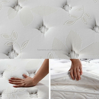 2014 removable mattress cover plastic coil mattress
