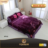 Otsu Keori 3D new embroidery bed sheet in China