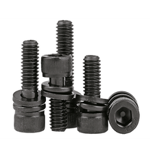 High quality Hexagon socket head cap screws with spring washer