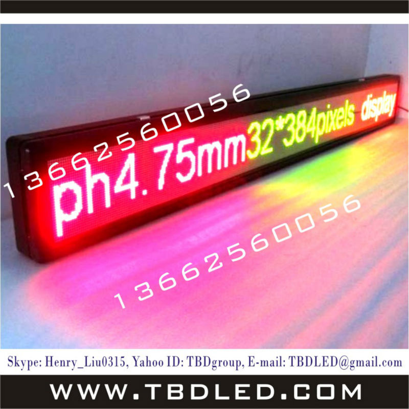 16 dots high indoor mini led Billboard display sign board screen sign