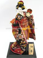Hatsune toys souvenir gift traditional costume doll