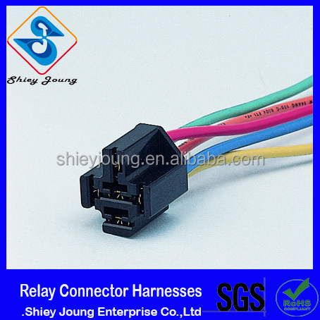 Relay Connector 5 pins custom wire harness