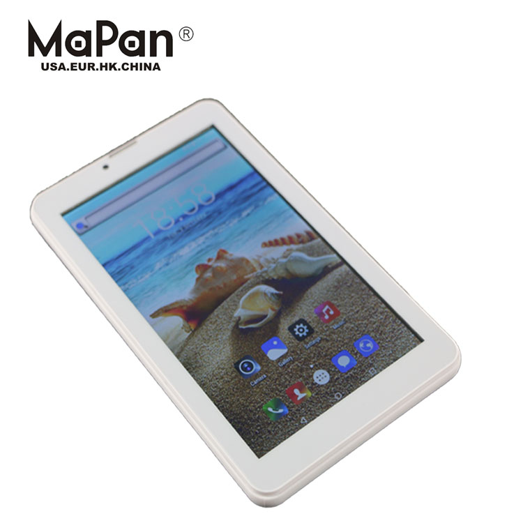 MaPan 7 inch Capacitive Touch Screen 1024x600 Android 4.4 Dual Core MTK8312 Phablet 3G Tablet PC