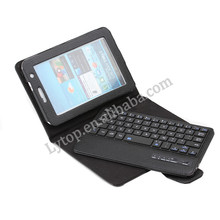 7.0 inch Tablet pc leather keyboard case for samsung,tablet keyboard For Samsung Galaxy Tab 2 7.0 P3100