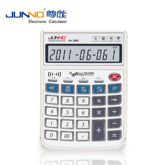 office gift Calculators with time and clock function