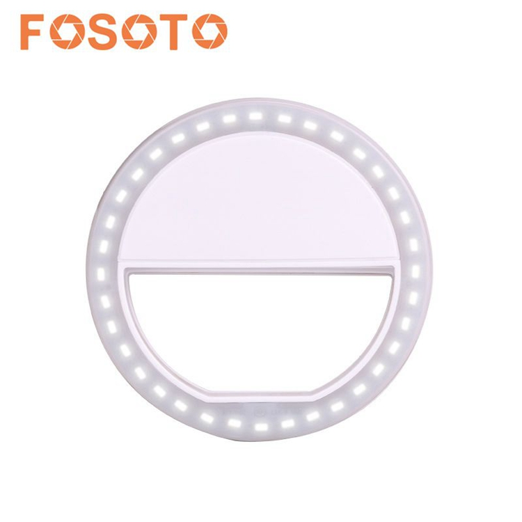 FOSOTO 36 LED (Rechargeable) selfie makeup ring light for Phone