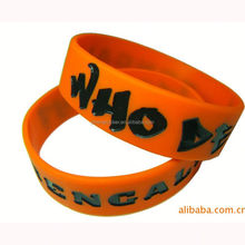 Made in Dongguan Fashionable mexico silicon bracelet