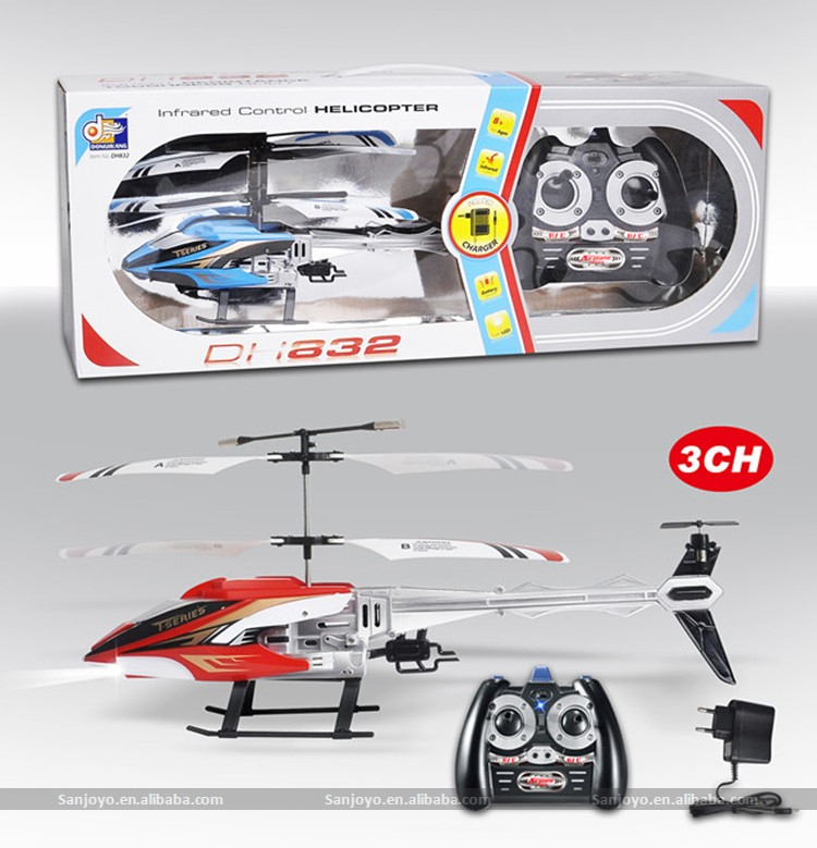 Hot sale Mini drones 3 CH RC Helicopter Radio Remote Control toys Metal toys Helicopter Boy gifts children toys