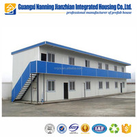 Customize Eco Friendly Modular Home Low Cost 2 Story Prefabricated House