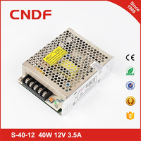 CNDF CE UL certification 40W 24V 1.8A ac-dc led light switching mode power supply smps