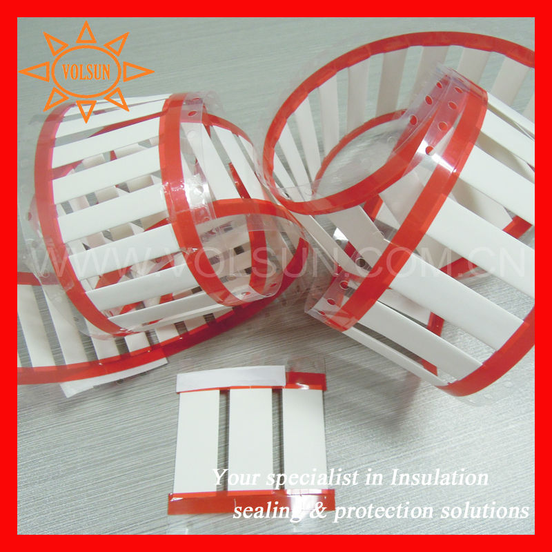 MSVLA Military Grade Plastic Cable Shrink Label