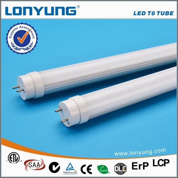EVG KVG ballast compatilble led T8 tube light frame in high quality aluminum