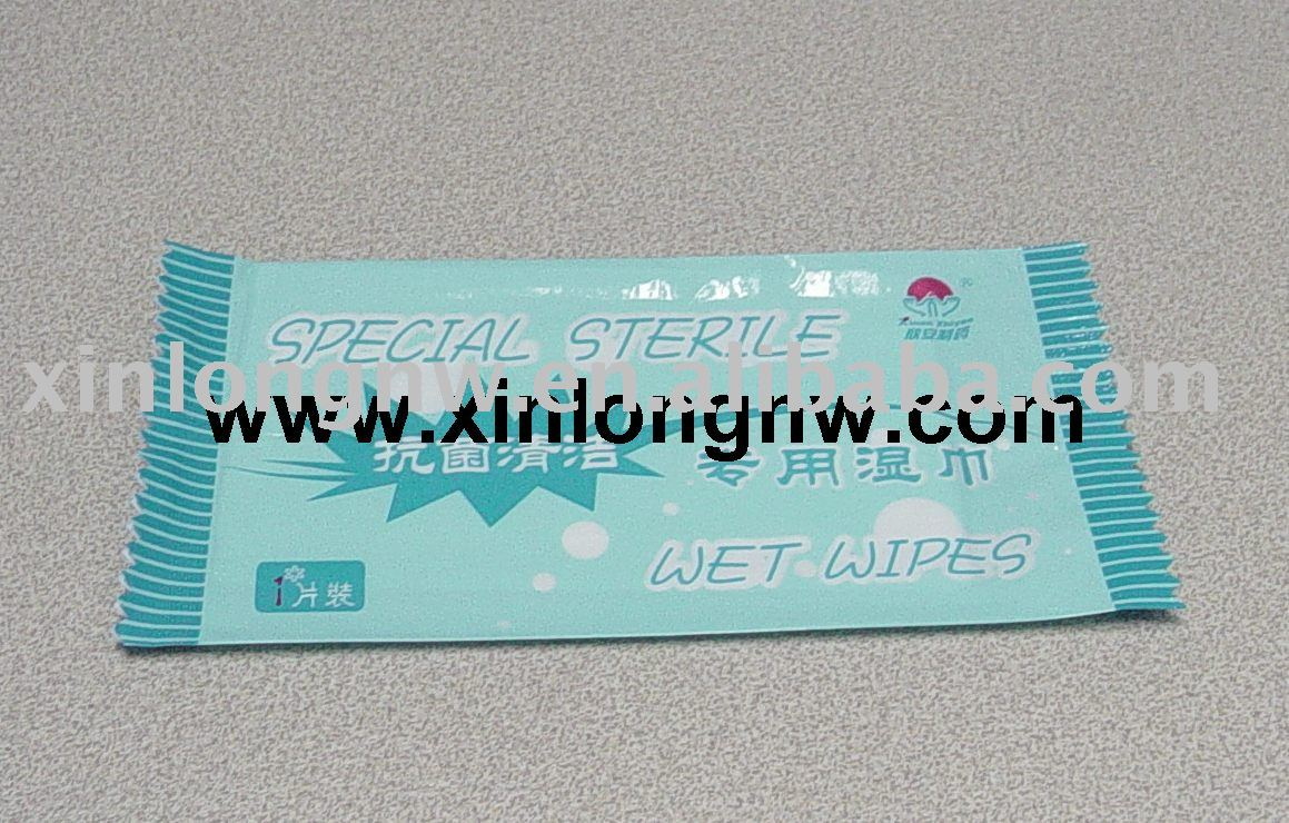 spunlace disposable wipe wet tissue nonwoven wet napkin