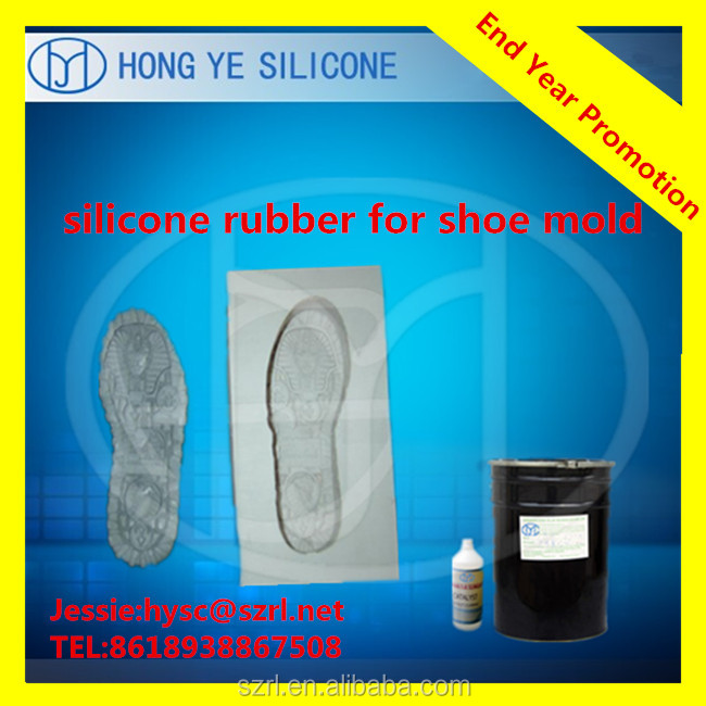 Cheap liquid silicone of rubber raw material for shoe mold ,sole mold from Hong Ye silicone