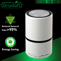 Mini air purifier with ionizer applicable for car or small room