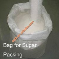 laminated pp woven bag for sugar packing