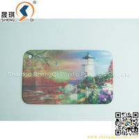 Customized PP/PET 3D Gift Card Wholesale